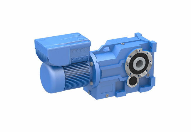 Series K - Right Angle Helical Bevel Geared Motor