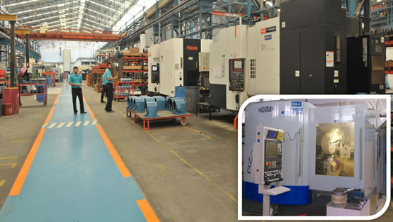 Facility for custom engineered geared motors