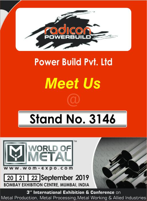 World Of Metal Exhibition @ Mumbai