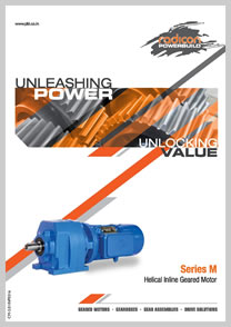 PBL product catalog for Helical Inline Geared Motor