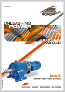 PBL product catalog for Planetary Geared Motor