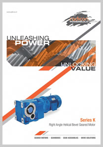 PBL product catalog for Right Angle Helical Bevel Geared Motor