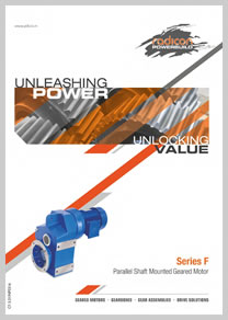 PBL product catalog for Parallel Shaft Mounted Geared Motor