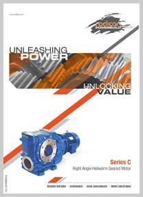 PBL product catalog for Right Angled Heli-worm Geared Motor