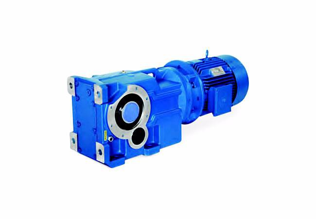 elecon Right Angle Helical Bevel Geared Motor