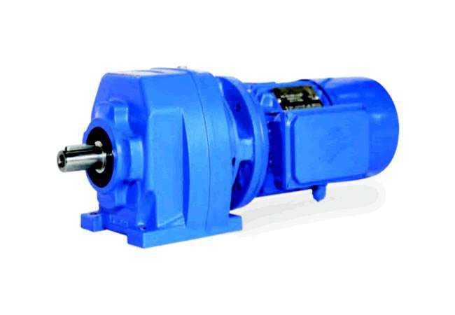 elecon Helical Inline Geared Motor